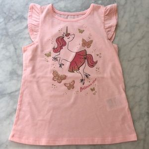 NWOT epic threads ballerina unicorn t-shirt
